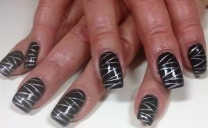 Full Cover Nail Art
